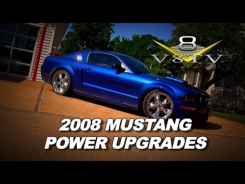 2008 Mustang GT CS Supercharger, Headers, Cat Back and Clutch Install