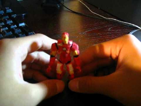 Paper Iron Man Mark VII Action Figure