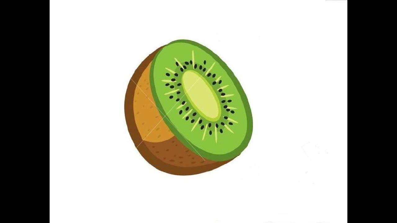 Kiwi Fruit Drawing How to Draw a Kiwi Fruit / Как
