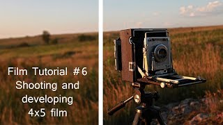 Film Tutorials #6 developing 4x5 sheet film W/ BTZS tube system.