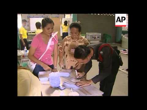 Polls close in Thailand's first post-coup election