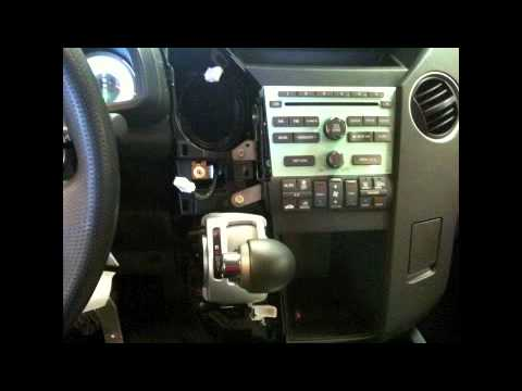 How To Factory Radio Removal For 2009 2012 Honda Pillot