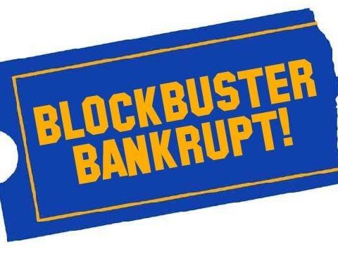 Blockbuster Is Bankrupt