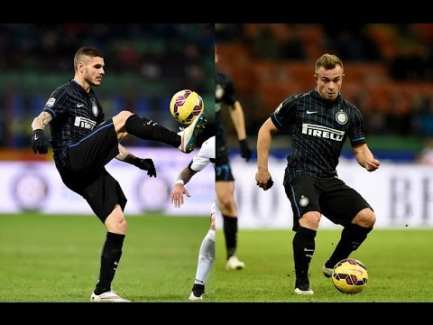 Mauro Icardi And Xherdan Shaqiri vs Palermo(08/02/2015)14-15 HD720P by轩旗