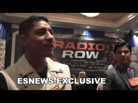 KOVALEV GETS REAL EXCITED WHILE MEETING ROBERTO DURAN EsNews Boxing