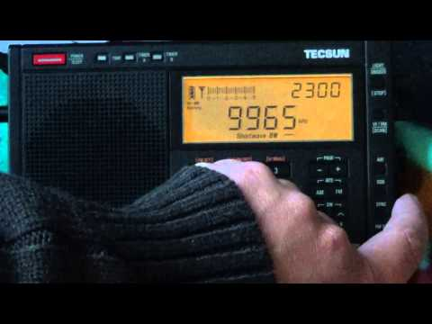 Radio Cairo Egypt weak Audio on new Tecsun PL 680 shortwave radio