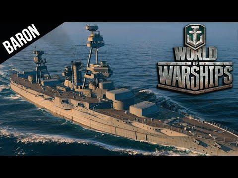 World of Warships US Battleships vs the Mighty Amagi!