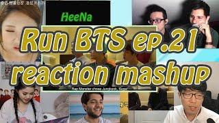 [BTS] Run BTS 달려라 방탄 ep.21 reaction mashup