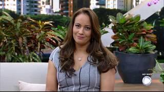 Confira como Paulo Henrique Amorim deu as boas-vindas à Renata Alves