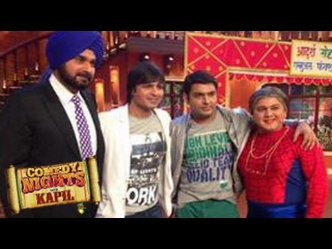 Kapil Sharma with Vivek Oberoi on Comedy Nights with Kapil 3rd May 2014 FULL EPISODE