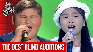 The Voice Kids | BEST Blind Auditions worldwide