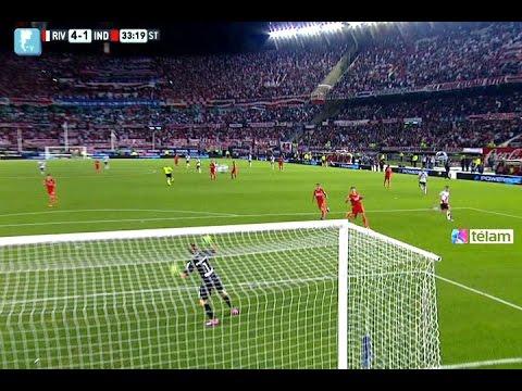 River extendi ó su gran presente con una goleada ante Independiente
