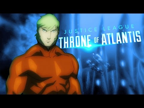 Justice League: Throne of Atlantis Official Trailer + Collectibles