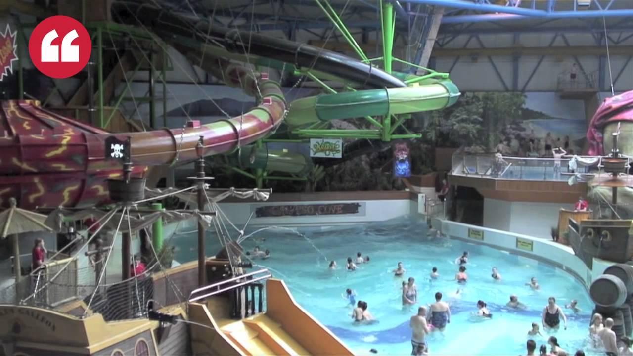 Calypso Cove Makes Big Splash At Metrodome Youtube