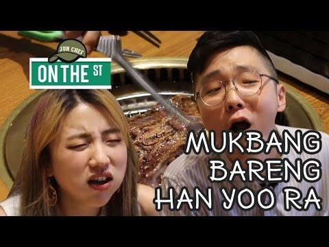 Jun Chef OTS : MUKBANG DAGING BAKAR SAMPAI MAU MUNTAH | FEATURING HAN YOO RA (ONNI CETAR)