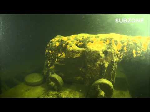 Het schip op de bodem van de Finse Golf