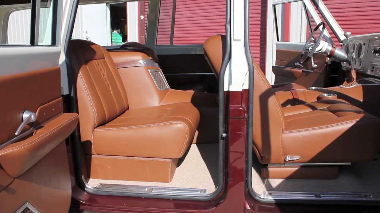 Hix Design Custom 71 Suburban Interior Youtube