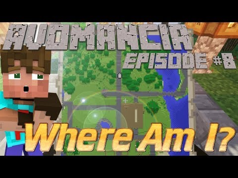 Minecraft Survival Lets Play | Avomancia Ep8 | How to make a map wall tutorial | Minecraft Survival