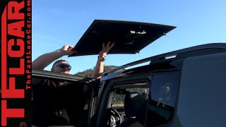 2015 Jeep Renegade: My Sky Removable Sunroof Tech Demo