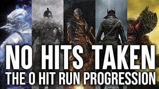 WORLD'S 1ST Ø HIT RUN  PROGRESSION | Hitless History: Soulsborne Any%