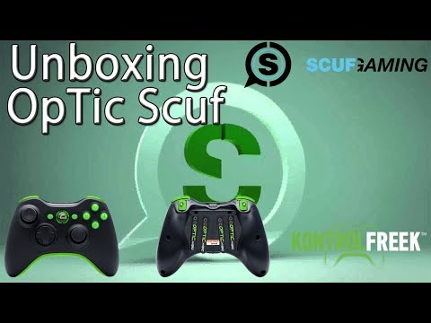 OpTic Gaming Scuf Hybrid Unboxing + Gun Game Gameplay