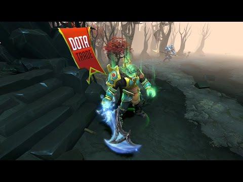 Winterblight Wraith King Immortal Preview Dota 2 video
