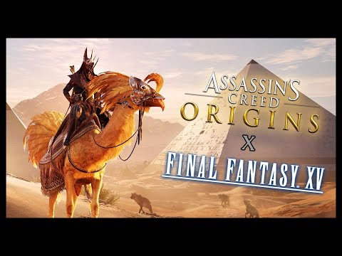 LA QUÊTE FINAL FANTASY EST LA !!! (Assassin's Creed Origins)