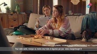 Musique de la Pub DOMINO'S PIZZA Mere et fille - Le TATOUAGE sur les FESSES