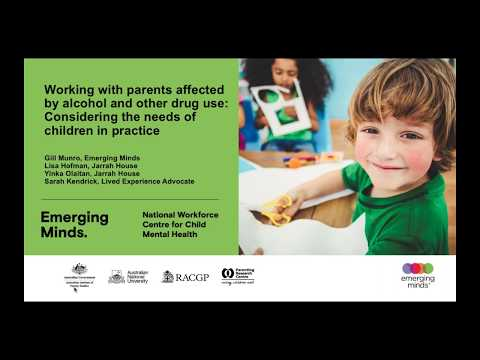 Working with parents affected by alcohol and other drug use