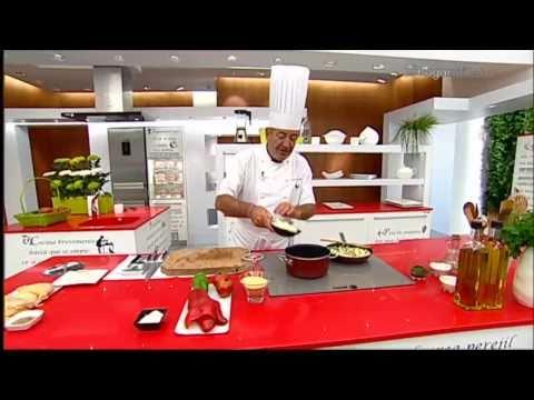 K. Arguiñano en tu cocina: Pollo asado con pisto de champiñones y cous-cous