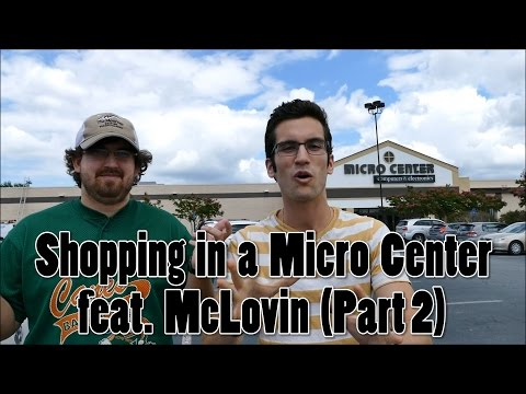 Shopping in a Micro Center for PC Components (Part 2)