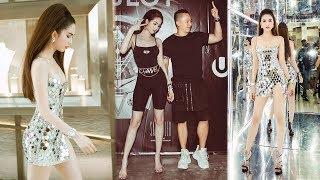 """Không còn mặc hở hang,Ngọc Trinh tái xuất siêu quyến rũ tại Singapore nhưng vẫn bị""""soi""""điểm nhạy cảm"""