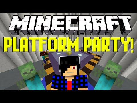 PLATFORM PARTY! [Minecraft: Minigame]