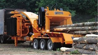 Top 5 Monster Wood Chipper Machines Modern Technology   Extreme Fast Chipper Big Tree Easy