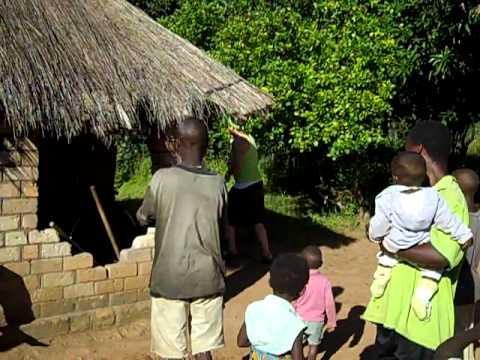 """2nd site visit-""""LIFE"""" Peace Corps Zambia 2010"""