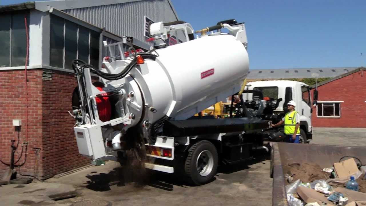 Jetting And Vacuum Truck Youtube
