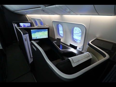British Airways Boeing 787-9 First Class London to Muscat via Abu Dhabi