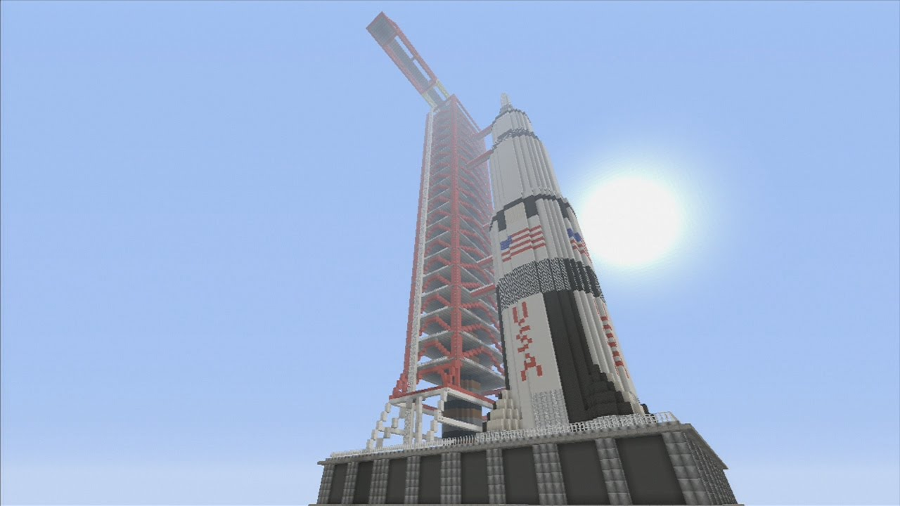 Minecraft Xbox Epic Structures Rannalt S Apollo Saturn V