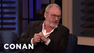 Liam Cunningham Wants To Play Old Jar Jar Binks - CONAN on TBS