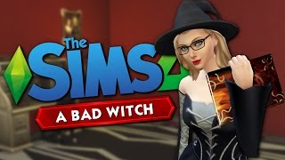 A BAD WITCH - The Sims 4 Funny Story #1