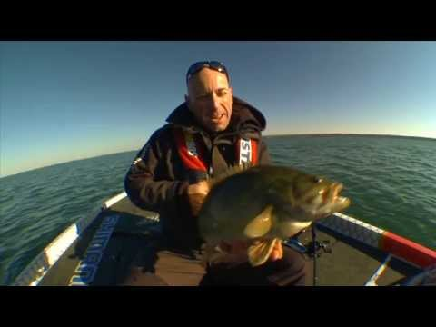 Idling Around & Locating Freaky Sized Smallmouth Bass - Facts of Fishing THE SHOW