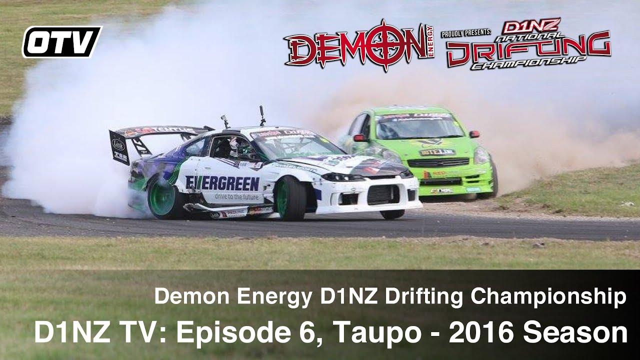 D1NZ Drifting: Episode 6 - R3 Taupo 2016 Season (D1NZ TV3)