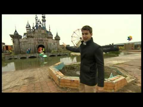 Banksy: Dismaland BBC One O'Clock News