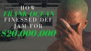 How Frank Ocean Finessed Def Jam Out of $20,000,000