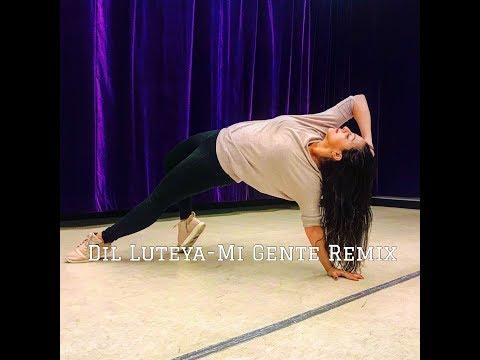 DJ Syrah   Dil Luteya  Mi Gente Remix     Dance Cover thumbnail