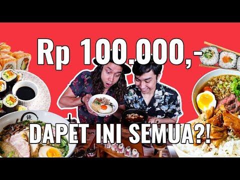 Download Lagu 100 Ribu Makan Di MALL dapet Ramen, Sushi, Soup , Dessert SERIUS!!?? KOK BISA? MP3 Free