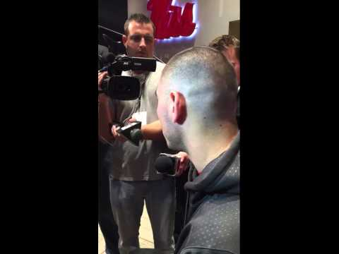 Chad Kelly after Arkansas game