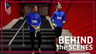 [BEHIND THE SCENES] Barça secure dramatic win over Atlètico Madrid with late Messi goal