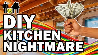 DIY Kitchen Nightmare - Man Vs House Ep.#3