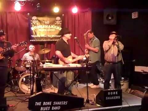 Sitting in with the Bone Shakers Blues Band